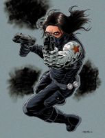 The Winter Soldier - Colored by 93Cobra