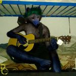 Jamming with Ed by pythos-cheetah