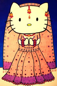 Hello Kitty Rajasthan II by msilvestre