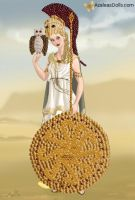 Athena, Goddess of Wisdom and War by LadyAquanine73551