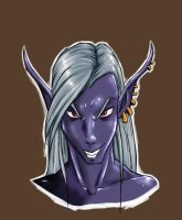 drow male by Graphite-Dream