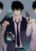 PSYCHO-PASS 2 SHINYA KOGAMI by obaka3
