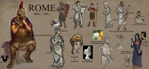 Costume Class: Rome by Rockman0