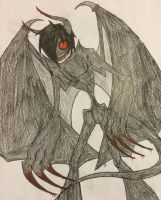 Silent's demon form by HiccupxJackFrost1
