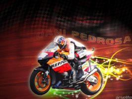 Dani Pedrosa by arselife
