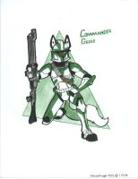 Commander Grees pose by NeoLupeTrooper9893