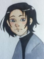 Young Snape by ncpenguinlover