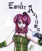 Emilie Autumn by WickedGhoul