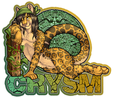 Crysm Badge by RikaPup