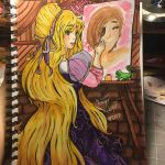 Rapunzel Painting by Sniffy678578