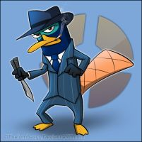 Perry The Spy by RatchetMario