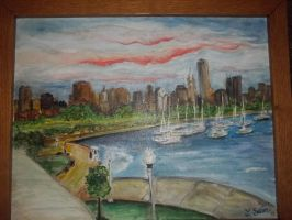 Chicago by paintingmama
