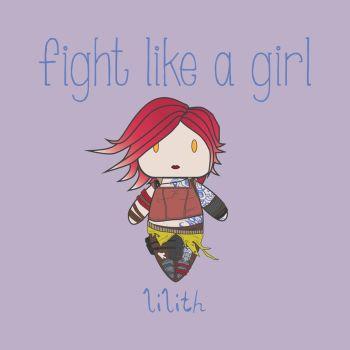 Lilith | Fight Like A Girl by isasaldanha