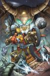 Wreckgar and Unicron by diablo2003