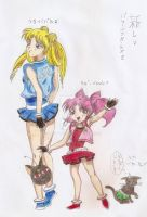The New Powerpuff Girls Z - color by MistyQue