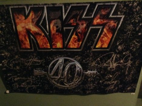 KISS 40 Poster by UKD-DAWG