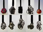 wire pendants 3 by queenofexecutions