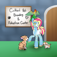 Critter Passion's Breeding And Pet Adoption Center by Mysterious-Lil-Lady