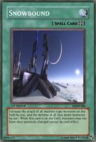 Snowbound card by OdaNobonaga