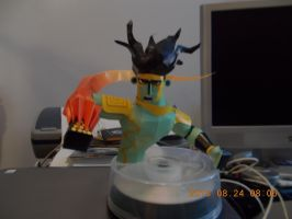 Star Platinum Papercraft by DraikenTalkos