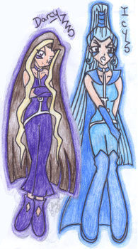 Darcy and Icy by WinXClub