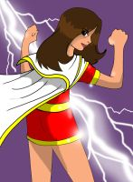 New Mary Marvel by Koku-chan