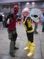 It's Deadpool and Pixie. Ik Right... by Darth-Slayer