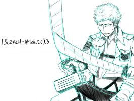 ATTACK on TITAN - Jean Kirschtein Sketch by bleach-aholicX3