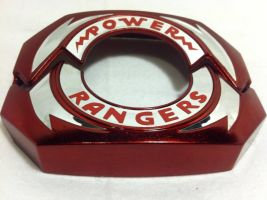 Metallic Red Power Morpher plates by ZanderYurami