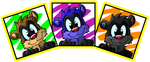 The many colors of Ferret Jester by Hukley