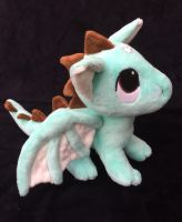 Custom Pendragon plush mint chocolate chip by angelberries