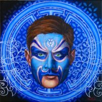 Blue Lantern, Chinese Opera Comic series by Leprikhan