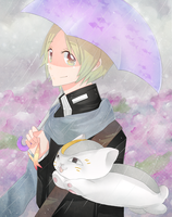 Natsume: Rainy day by Kialun