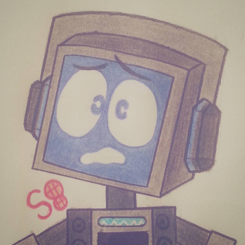 FANDROID THE PRECIOUS ROBOT!!! by Spagooties