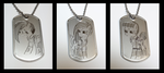 Military Pony Tags by SilverSlinger