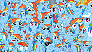 Rainbow Dash Wallpaper by Rarity6195
