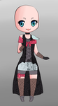 Custom clothing adopt #1 by chaotiqueadopts