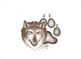 Wolf Tat Design 2 by silverwolf71190