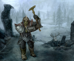 Orc Dovahkiin by Eliminate