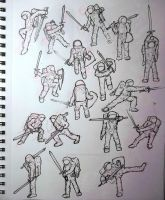 Astro-Knight Sketches by an0ther-artist
