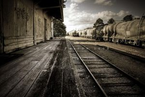 Run-down station by CainPascoe