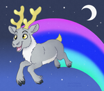 Reindeer cannot fly by HareTrinity