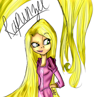 .:Rapunzel is Tangled:. by Orthgirl123