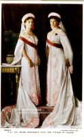 The Eldest Grand Duchesses in 1913 by GrandDuchessIsabelle