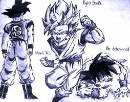 Stand Tall, Fight Back, Be Determined by gokuxvegeta4ever