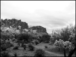 Arizona Superstition Mountains by andromeda
