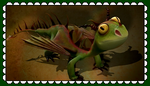 HTTYD Terrible Terror Fan Stamp by MorkelebTheDragon