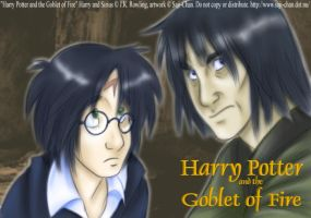 Harry and Sirius completed by azispaz