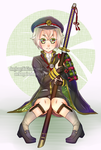 Shota with a Big Sword: Hotarumaru by dongbangshinkiss