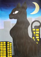 Kitty in the City by Livvy583